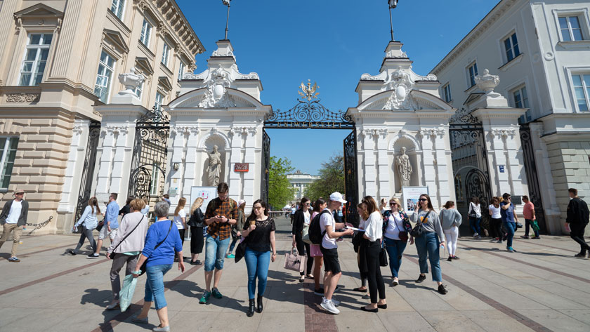 University of Warsaw ahead of  the Jagiellonian University